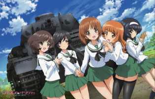 Girls und Panzer ガールズ&パンツァ