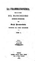 Parascandolo L. La frammassoneria figlia ed erede del manicheismo