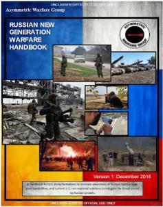 Russian New Generation Warfare Handbook
